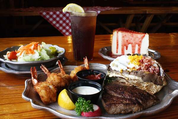 Cowgirl Special at Little Red Barn Steakhouse.