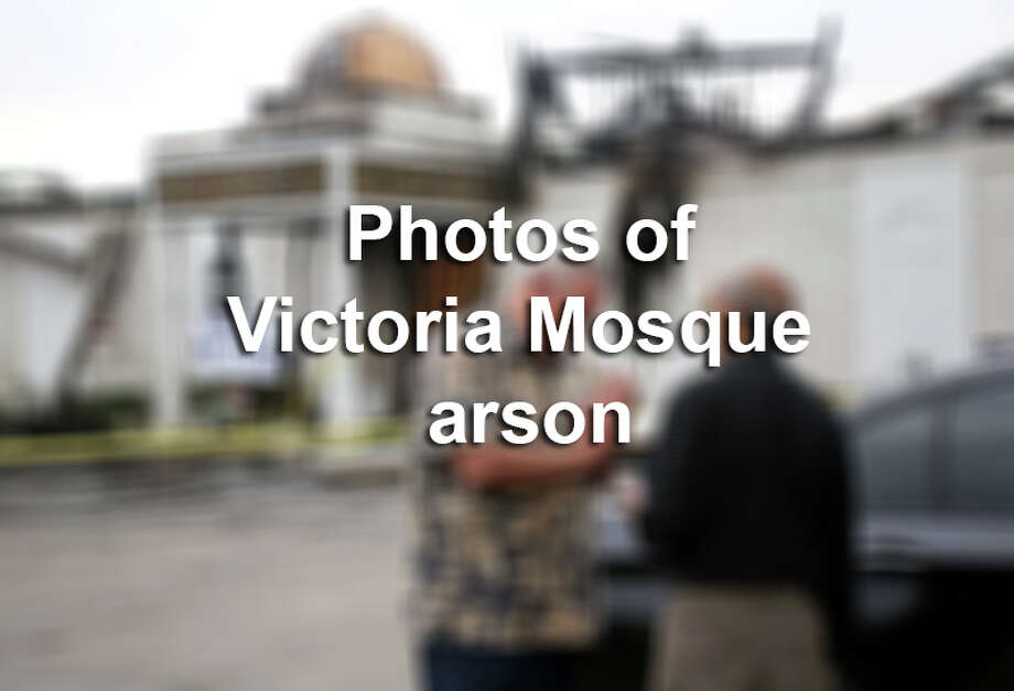 Click through this gallery to see photos of the Victoria Mosque arson. Photo: Courtesy