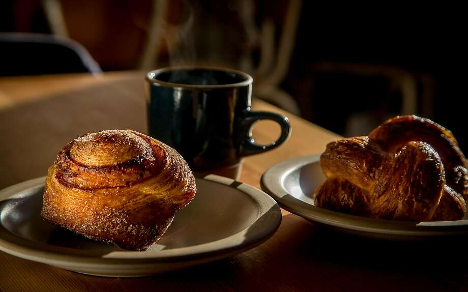The Morning Bun and the Ham & Cheese Danish at Tartine Manufactory in San Francisco, Calif. are seen on January 5th, 2017. Photo: John Storey/Special To The Chronicle