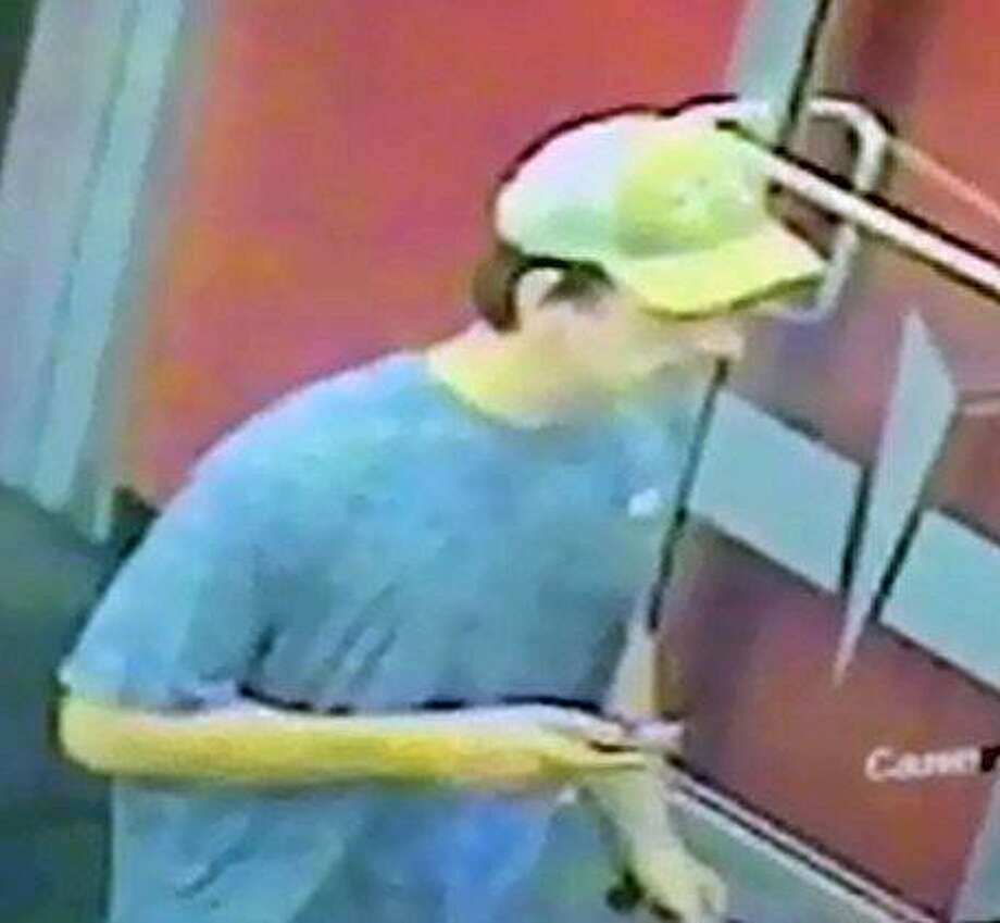 Fairfield police are looking for this man, who they suspect broke into lockers at the Edge Fitness Center Wednesday night, taking, among other things, a handgun. Fairfield,CT. 8/10/17 Photo: Contributed / Contributed Photo / Fairfield Citizen