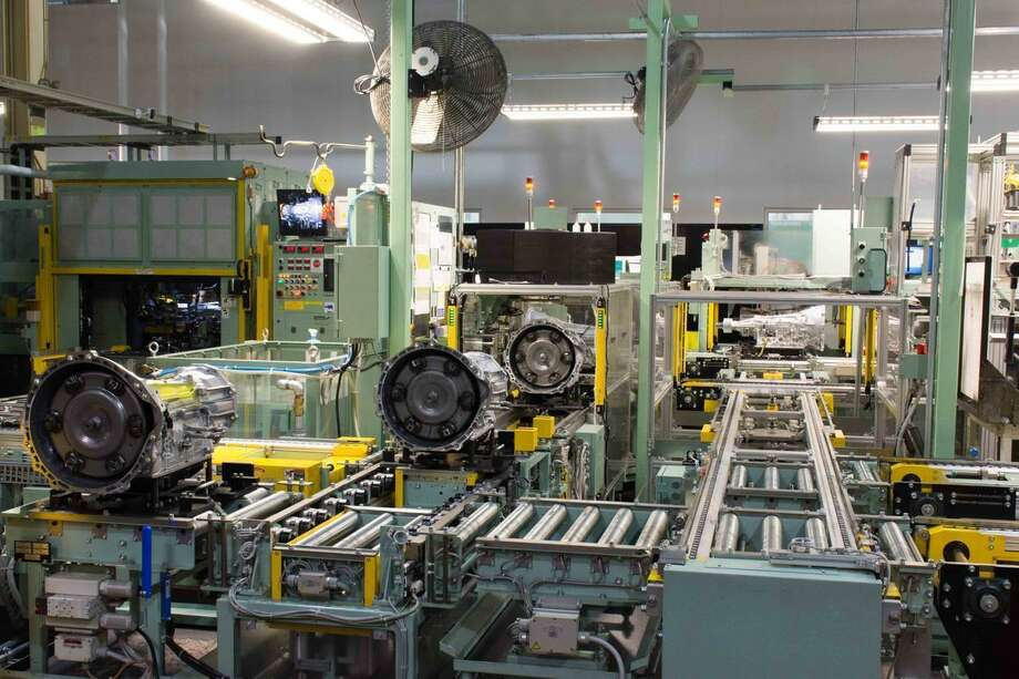 This undated photo provided by AW North Carolina shows production operations inside the company's Durham, N.C., factory. Online thieves are increasingly hitting todays just-in-time manufacturing sector with cyberattacks that demand ransom to make computer malware go away. Malware entered the North Carolina transmission plants computer network via email last August, spreading like a virus and threatening to lock up the production line until the company paid a ransom. Photo: /Associated Press / AW North Carolina