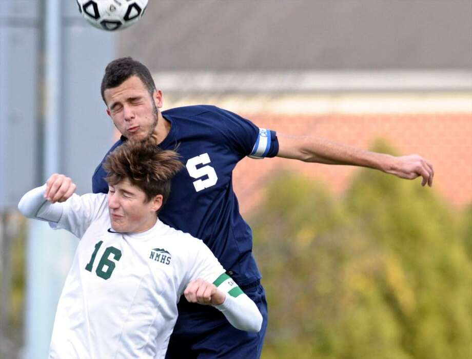 Staples' boys soccer will look to build on last season's 9-6-5 record and successes as they were able to make a run to the Class LL quarterfinals a season ago. The Wreckers open up the 2017 fall season on Sept. 4 home against FCIAC foes Trinty Catholic at 4 p.m. at Loeffler Field in Westport. Photo: H John Voorhees III / Hearst Connecticut Media