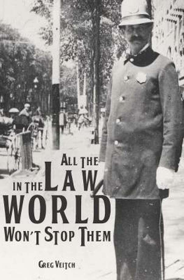 "Cover of ""All the Law in the World"" by Saratoga Springs police chief Greg Veitch."