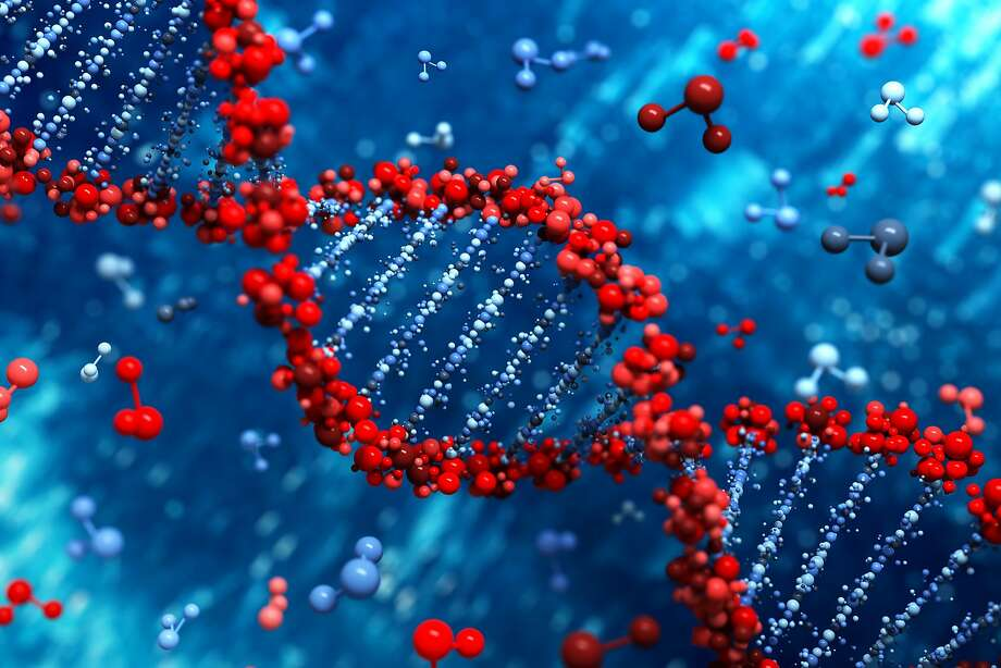 An illustration of a DNA strand. Photo: Fotolia, Leigh Prather