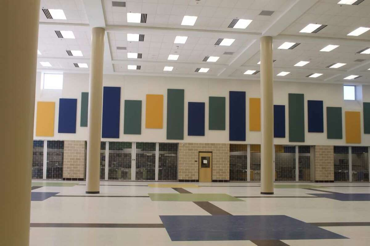 Harlan High School is the largest facility in Northside ISD and will eventually serve around 3,000 students.