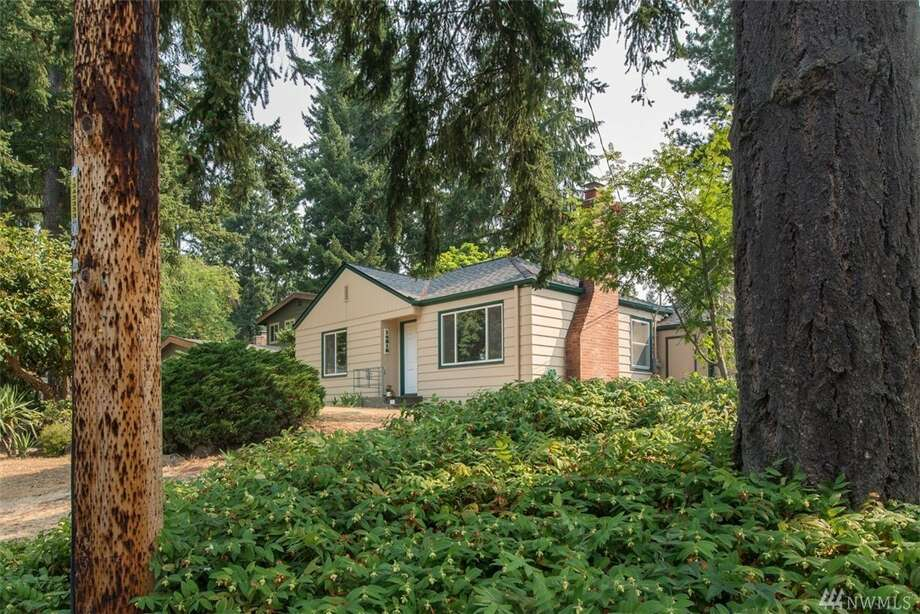The first home, at 14316 23rd Place N.E., is listed for $450,000. It is in Olympic Hills.The two-bedroom, one-bathroom home is 810 square feet. It was built in 1941 but has been impeccably maintained.There will be a showing for this home on Saturday, Aug. 12, from noon to 3 p.m. You can see the full listing here. Photo: Listing Courtesy Ria Scott, Windermere Real Estate Co.