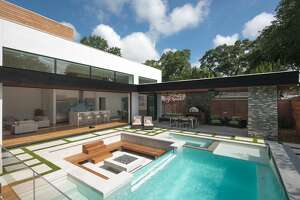 This home on Whitman Street, designed by 2scale architects, will be in the 2017 AIA Houston annual Home Tour.