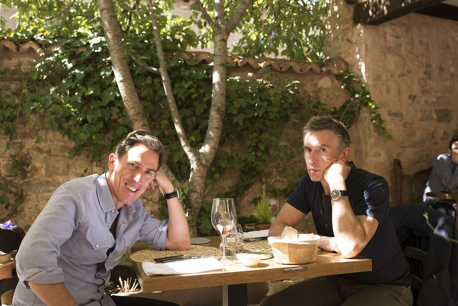 """Rob Brydon (left) and Steve Coogan hit the road once more for """"The Trip to Spain."""" Photo: IFC Films"""