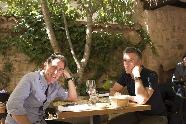 """Rob Brydon, left, and Steve Coogan in """"The Trip to Spain"""""""