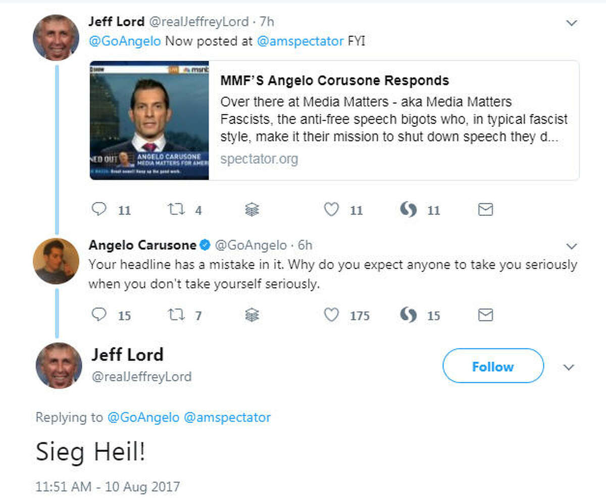 CNN has cut ties with commentator and Donald Trump supporter Jeffery Lord following this tweet, and the reaction on Twitter was swift. See the memes that followed Lord's controversial post. @realJeffreyLord on Twitter