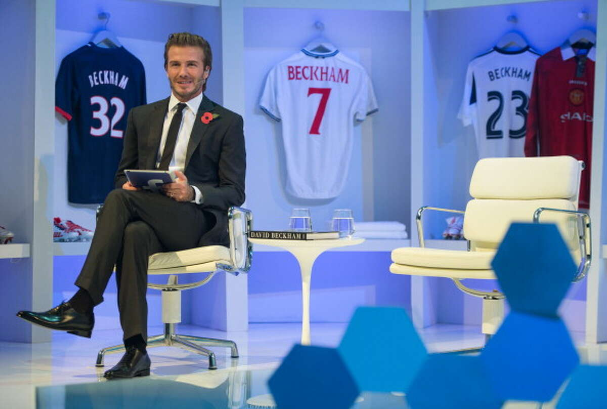 David Beckham David Beckham is one of the world's most iconic sports stars, with on of the most iconic insurance deals. He has a $195 million insurance deal on his legs, feet and toes. Not only are they protected from injury, they're also protected against disfigurement.