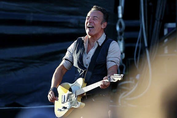 Bruce Springsteen      Bruce Springsteen is such a BOSS! The gravelly voice can now go out because he got his voice insured with Lloyd's of London for $6 million.