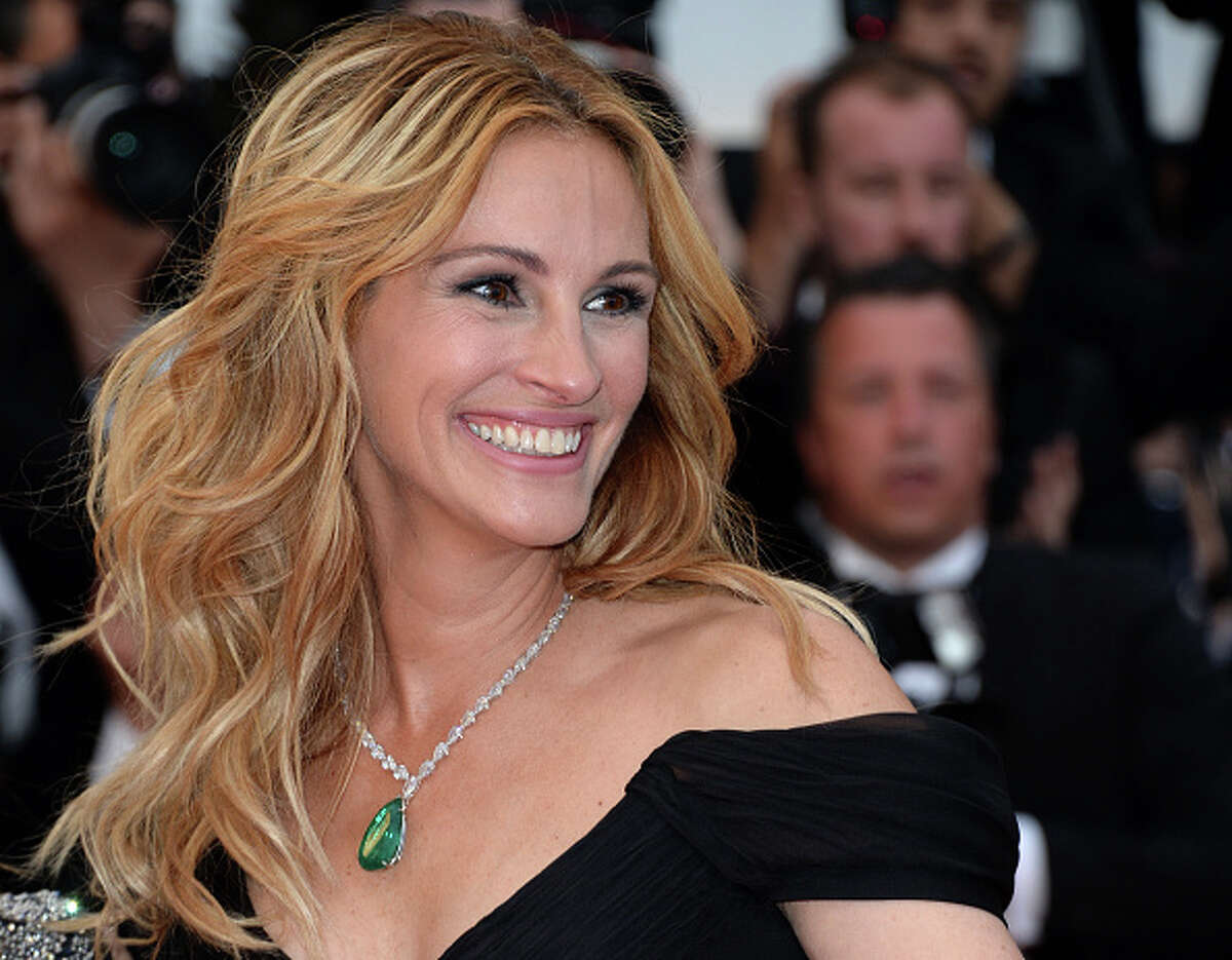 Julia Roberts Julia Roberts is known to have the most famous smile in Hollywood, a million dollar smile. Well, turns out it's a $30 million dollar smile. The Oscar winner insured her teeth.