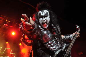 Gene Simmons     Gene Simmons' signature move was sticking out his ridiculously long tongue. The KISS frontman decided to protect himself and got his tongue insured for $1 million.