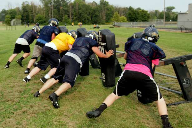 North Huron Football Practice 2017
