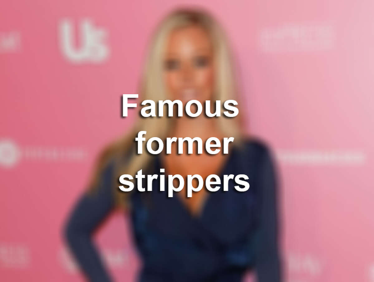Keep clicking to see famous former strippers.