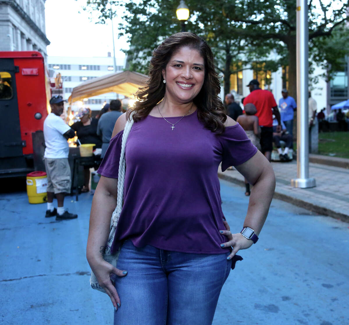 Nina EtCetera and The Liza Colby Sound performed at McLevy Green in Bridgeport during Downtown Thursdays onAugust 10, 2017. Were you SEEN?
