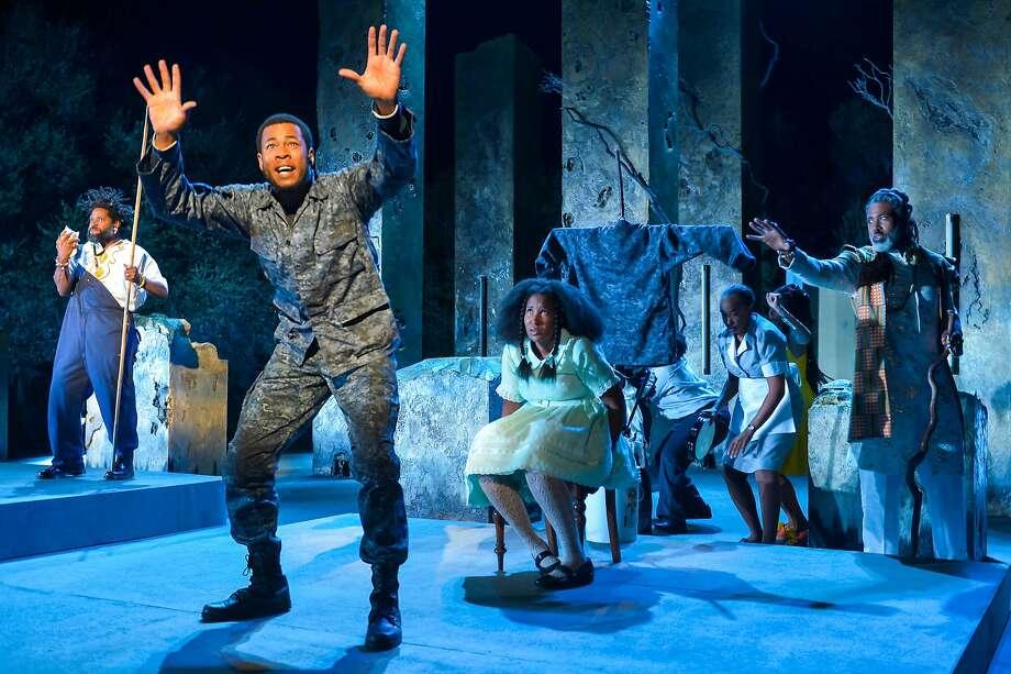 "California Shakespeare Theater presents Marcus Gardley's ""Black Odyssey"" in Orinda. Photo: Kevin Berne, Cal Shakes"
