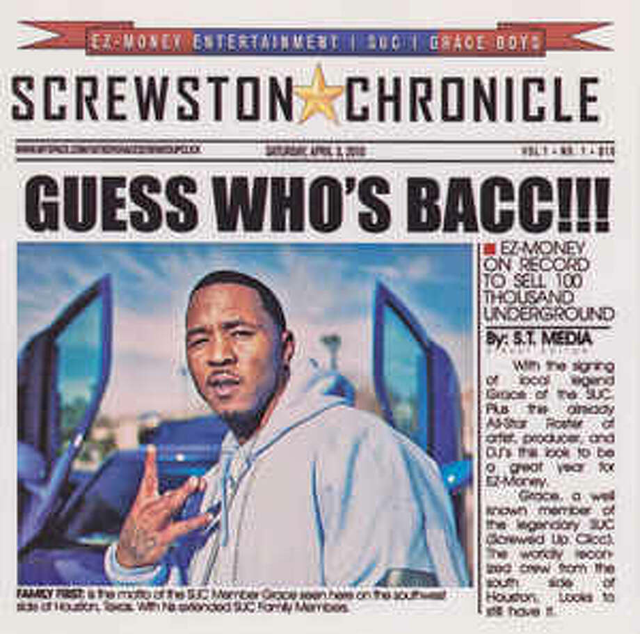 Cover image for Macc Grace's Guess Who's Bacc!!! album.