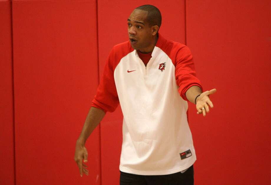 Fairfield University men's basketball coach Sydney Johnson is taking his team to Italy for a 10-day trip of basketball and bonding. Photo: Staff Photo / Connecticut Post