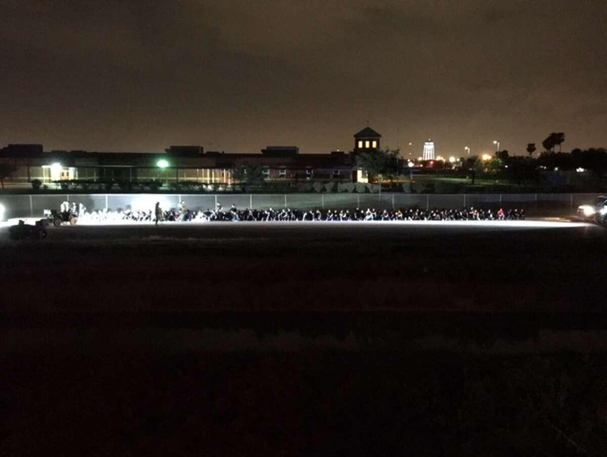 The Border Patrol found 86 undocumented immigrants from Guatemala near Hidalgo on Monday, Aug. 7, 2017.