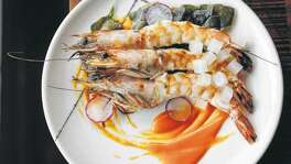 At Riel, instead of the ubiquitous shrimp and grits, prized Gulf shellfish come head-on in a scintillating hot-and-sour sauce and are served with collard greens.  Click here to get your tickets for Culinary Stars today!