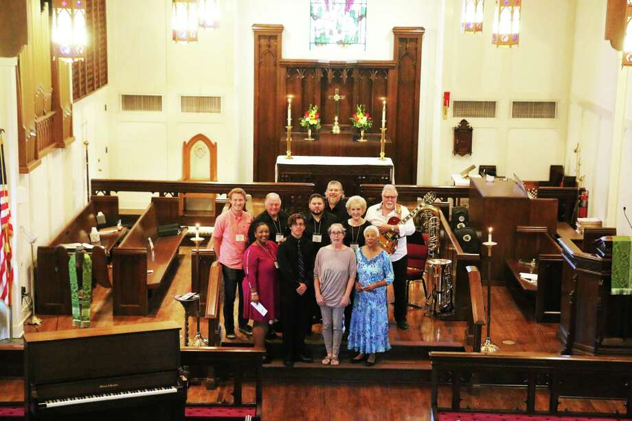 The Fine Arts Expo showcased some fine talent from within the Liberty County community in the ornate sanctuary of St. Stephen's Episcopal Church in Liberty. Photo: David Taylor