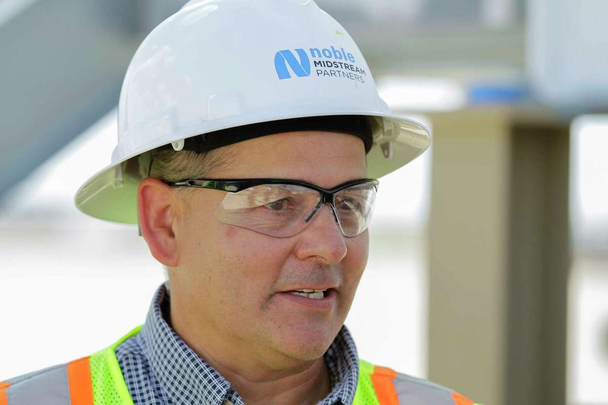 Russ True, operations manager of the Permian Basin and DJ Basin for Noble Midstream Partners.( Steve Gonzales / Houston Chronicle )