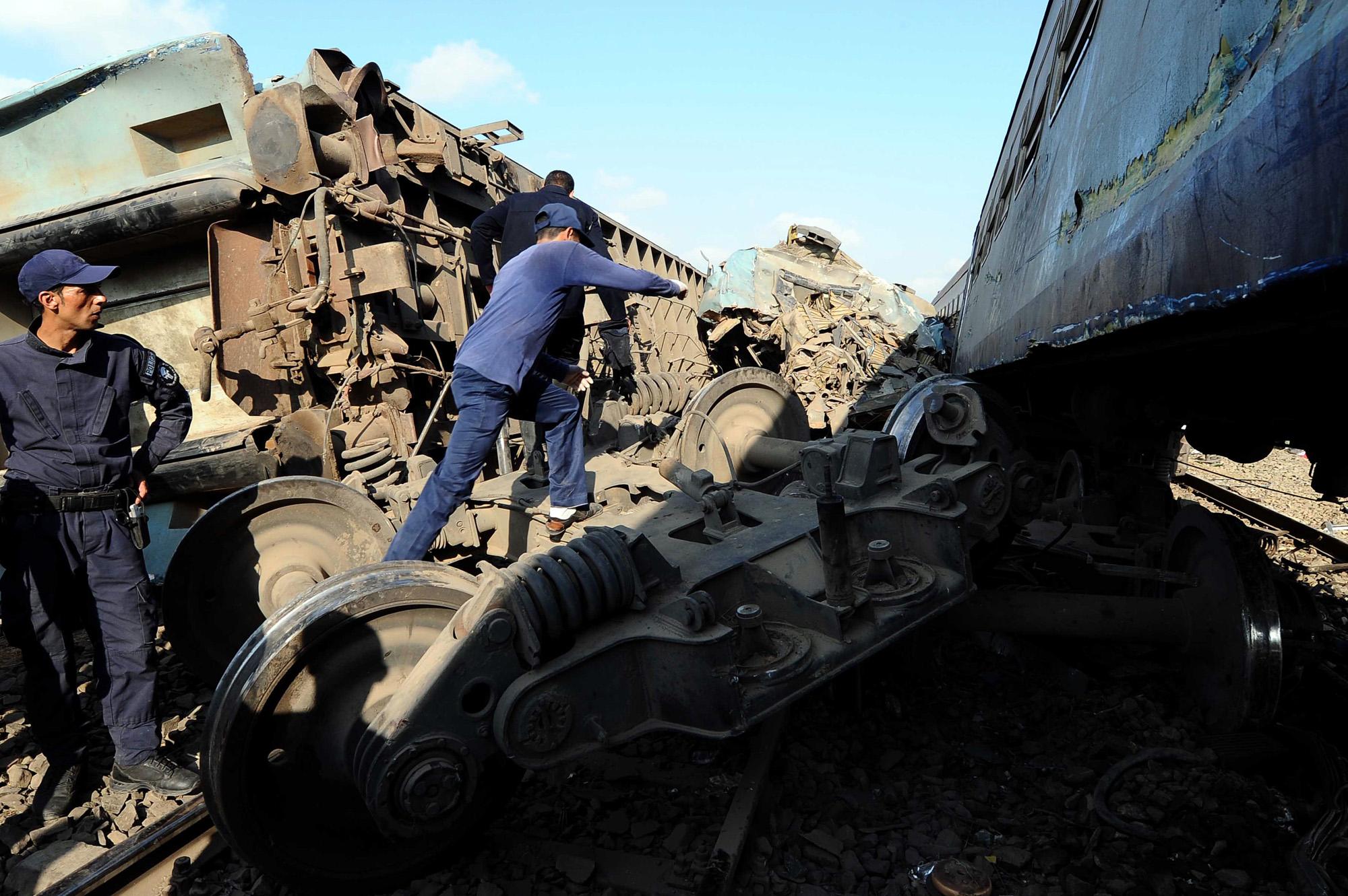 Train Collision In Northern Egypt Kills 43; 122 Injured  Houston Chronicle
