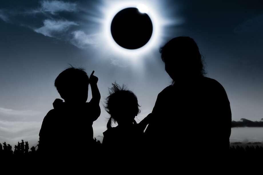 The eclipse of the sun will cut solar power generation, so customers of utilities that tap into solar sources are asked to reduce energy use on Aug. 21. Photo: Handout, TNS
