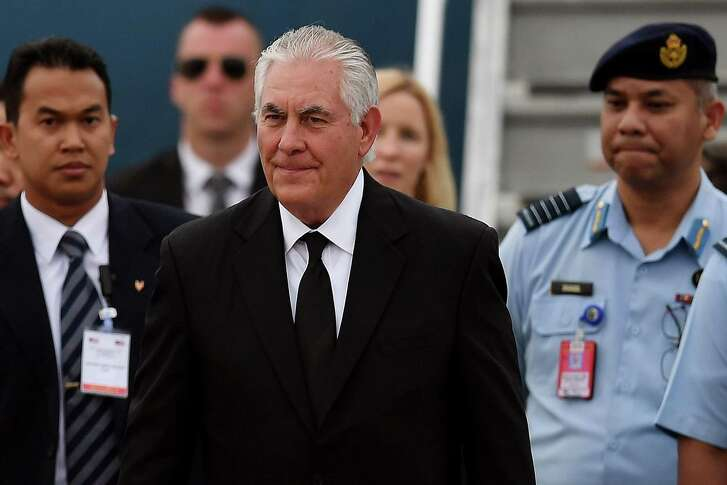 "Under Secretary of State Rex Tillerson, the State Department appears to be abandoning its commitment to helping the world democratize. The promotion of American values, he told his department, ""creates obstacles"" in pursuit of American interests."