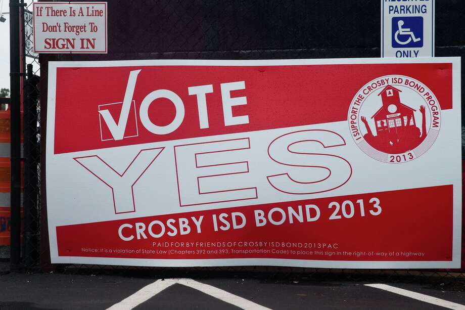 Voters in Crosby Independent School District passed an $86.5 million bond in 2013. The Crosby ISD Board of Trustees will be considering a $109.5 million bond package proposal during a school board meeting on Thursday, Aug. 17. Photo: AMANDA J. CAIN / The Observer