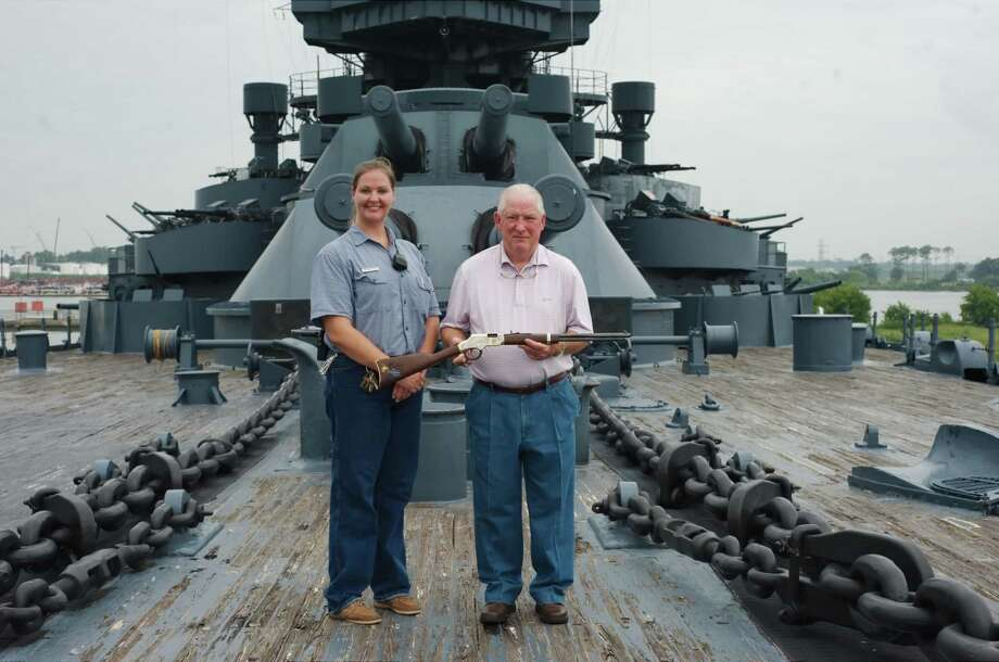The Battleship Texas is a World War I-era ship that is in need of serious repairs in order to save it from sinking or being scrapped. Photo: Kirk Sides / The Houston Chronicle / © 2017 Kirk Sides / Houston Chronicle