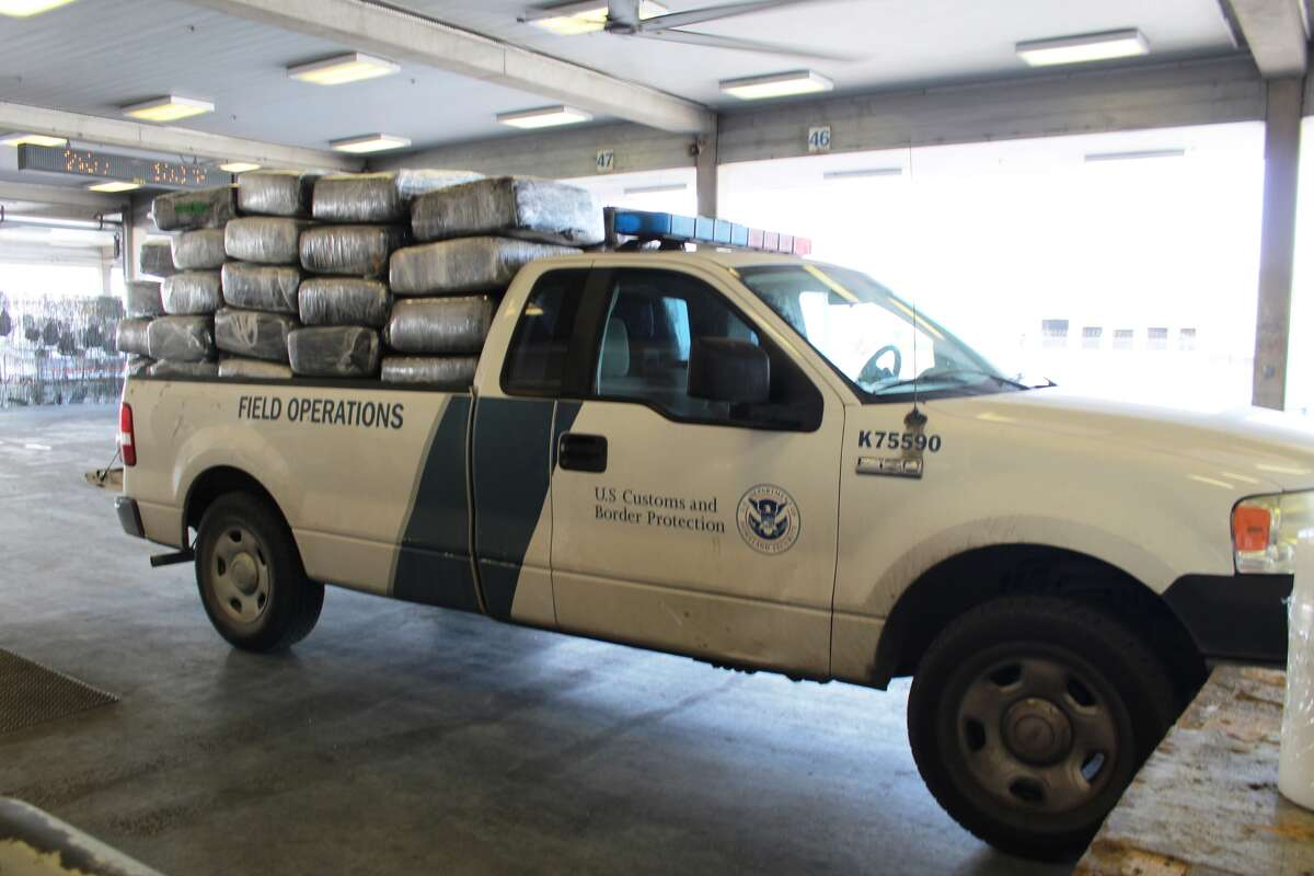 More than one ton of marijuana was found in a watermelon shipment at the Pharr International Bridge on Wednesday, Aug. 9, 2017.