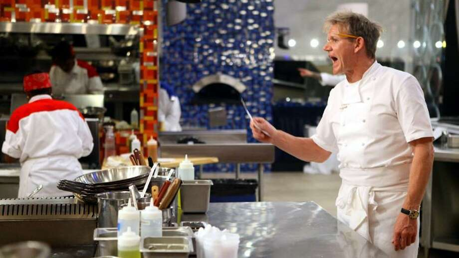 'Hell's Kitchen' host Gordon Ramsay, known for his belligerent TV ire, serves up his first all-stars edition of the Fox show on Sept. 29 — and one veteran chef competing hails from San Antonio. Photo: Fox Broadcasting
