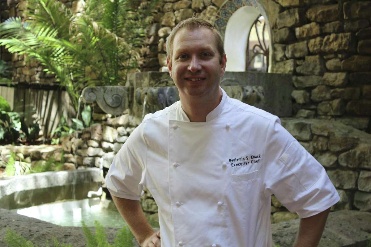 Benjamin Knack was executive chef at Las Canarias at The Omni La Mansion del Rio; currently he's executive chef at Fair Oaks Ranch Golf & Country Club.