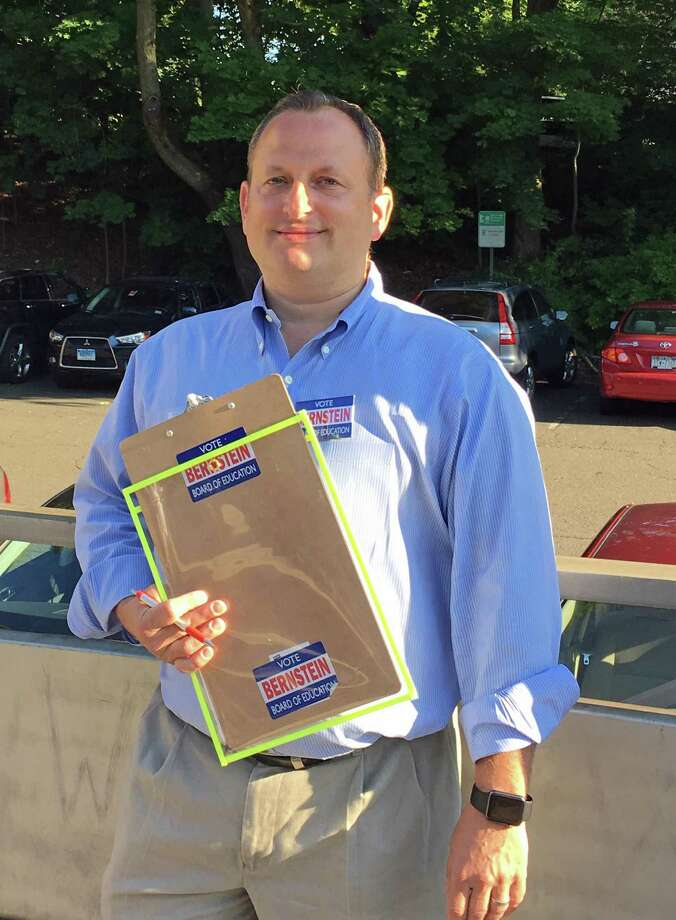Peter Bernstein, Republican school board member, has collected enough signatures to petition onto the November ballot for re-election. Photo: Emilie Munson