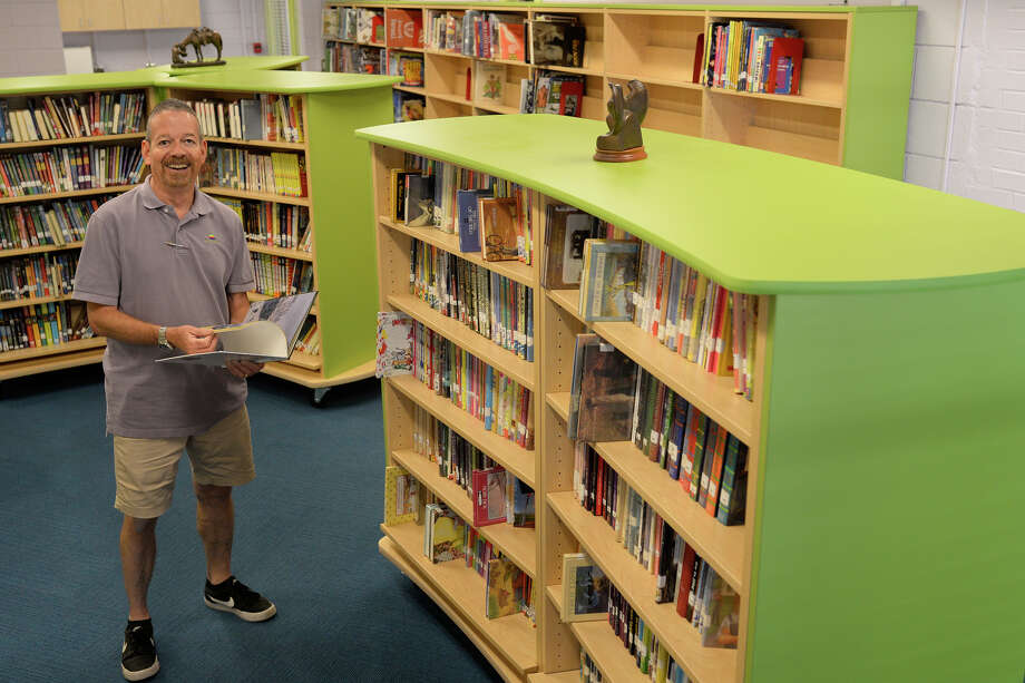 George Webster, librarian at the Blakemore Children's Library in the Trinity School, photographed on Aug. 11, 2017. James Durbin/Reporter-Telegram Photo: James Durbin
