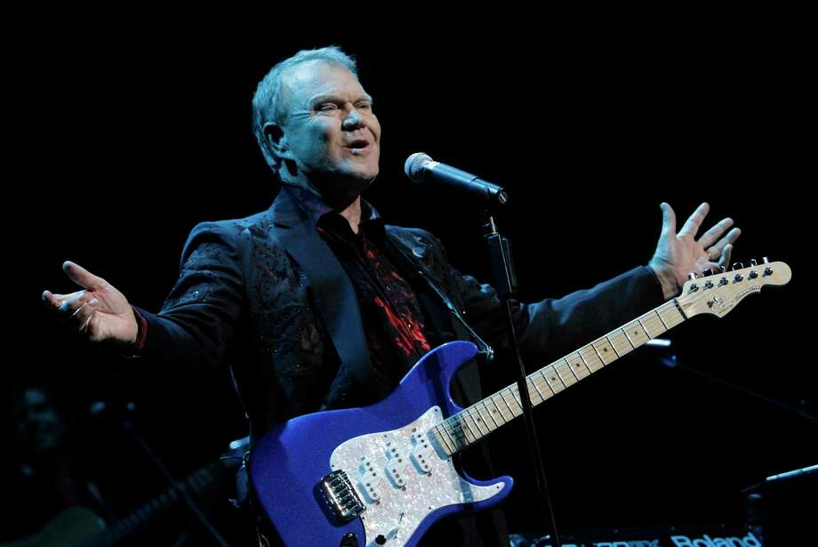 """After the late Glen Campbell disclosed his diagnosis of Alzheimer's disease, his changing Tom Petty's line, """"I can't hold out forever"""" to """"I can't hold on forever"""" took on a bittersweet meaning. Photo: Lawrence K. Ho, MBR / Los Angeles Times"""