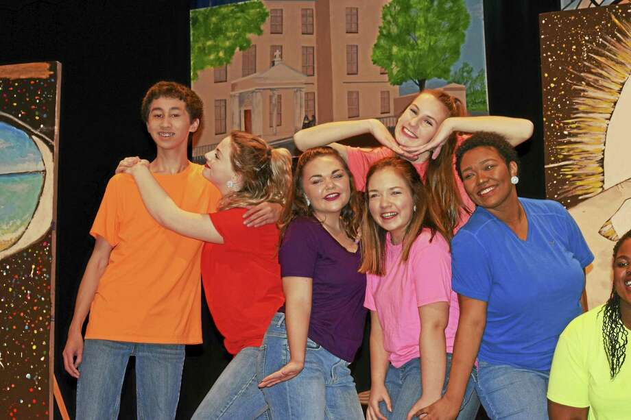 """Wednesday will be the premier performance of """"Vocal Dimension,"""" the new Mercy/Xavier co-ed show choir group in Middletown. Photo: Courtesy Photo"""