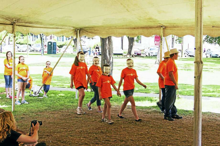 Children perform during last year's Rising Star program on the green in Guilford. A meet and greet for children and parents is set for Saturday at 10:30 a.m. or 1 p.m. Photo: Contributed Photo  / ? Steve McGuire