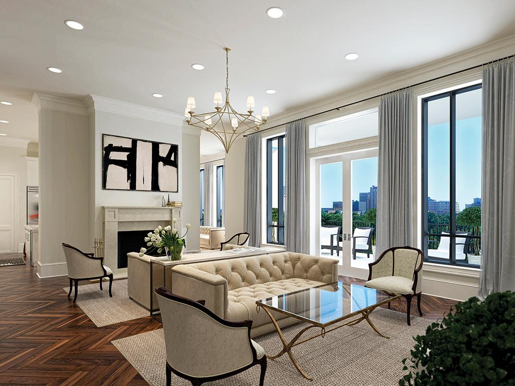 Condo life high rise living lends itself to open single - The living room lounge houston tx ...
