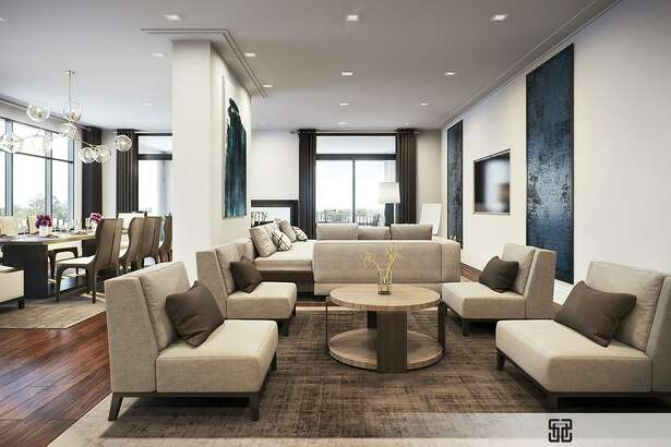 Modern high-rises, such as The Sophie at Bayou Bend, offer roomy, luxurious environments.