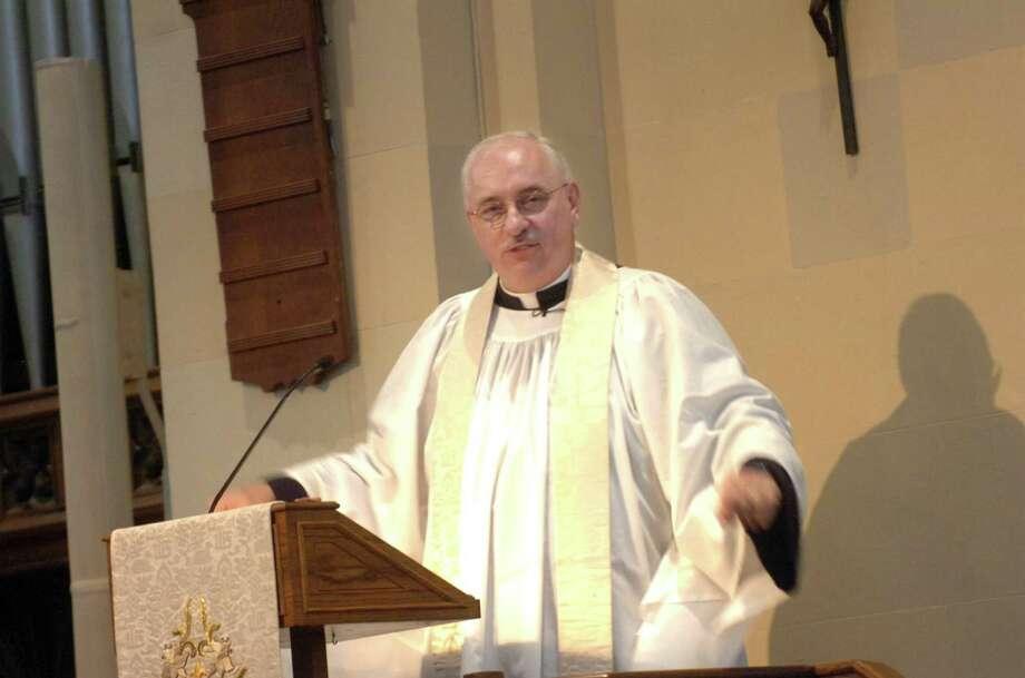 Rev. James B. Lemler Photo: Helen Neafsey / ST / Greenwich Time