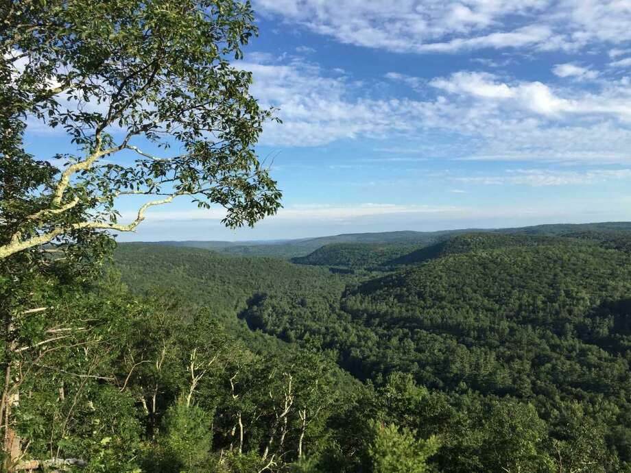 West Branch, Farmington River Valley from Peoples State Forest. Photo: Contributed Photo /Rob McWilliams