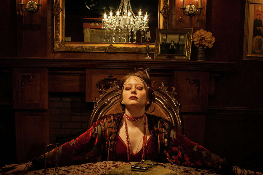 """Haley E.R. Cooper as Daphne in """"The Man From Beyond"""" Photo: Strange Bird Immersive"""