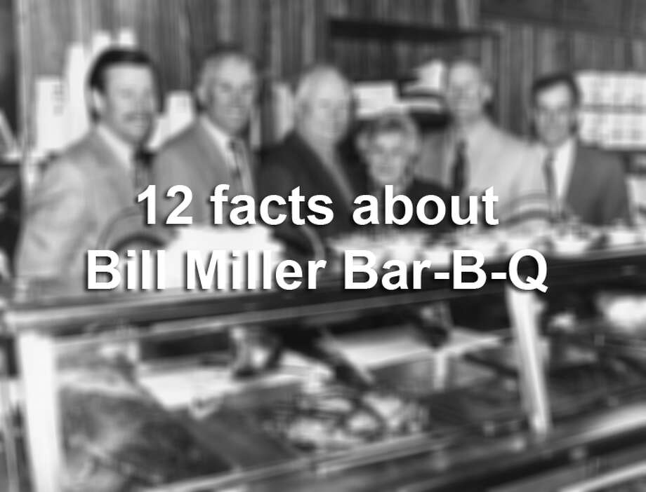 12 things to know about San Antonio's Bill Miller Bar-B-Q - San ...
