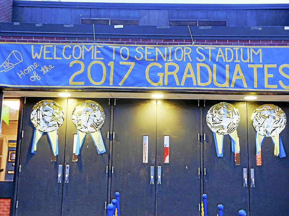 Haddam-Killingworth High School Project Graduation's decorations Photo: Courtesy Linda Roman