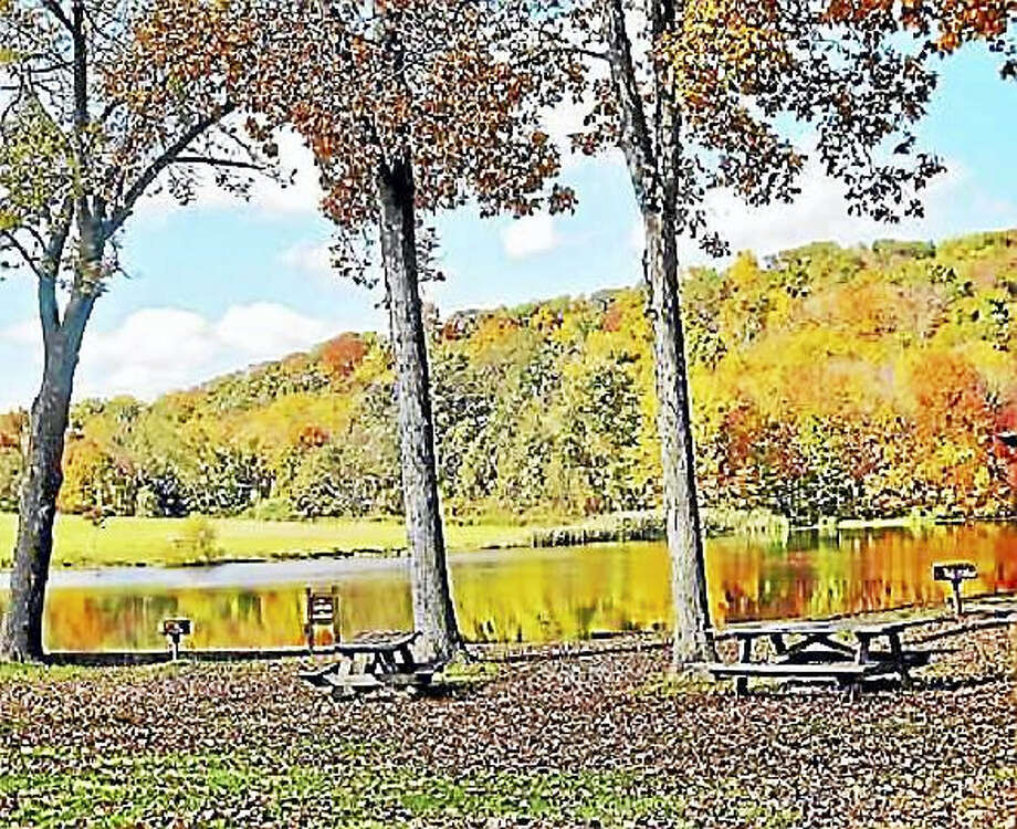 Osbornedale State Park, overlooking Pickett's Pond, Derby Photo: New Haven Register File Photo
