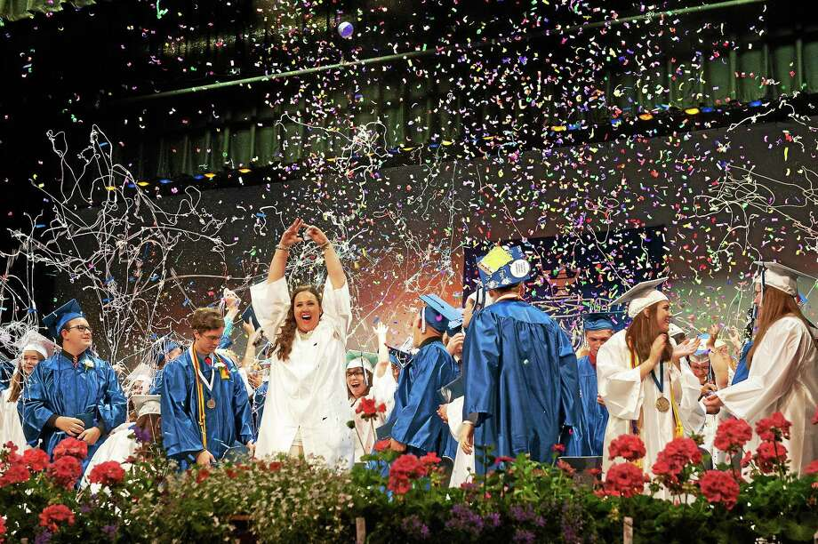 High school graduation is a time of triumph — and a time when young people become adults. Photo: File Photo  / RAY SHAW